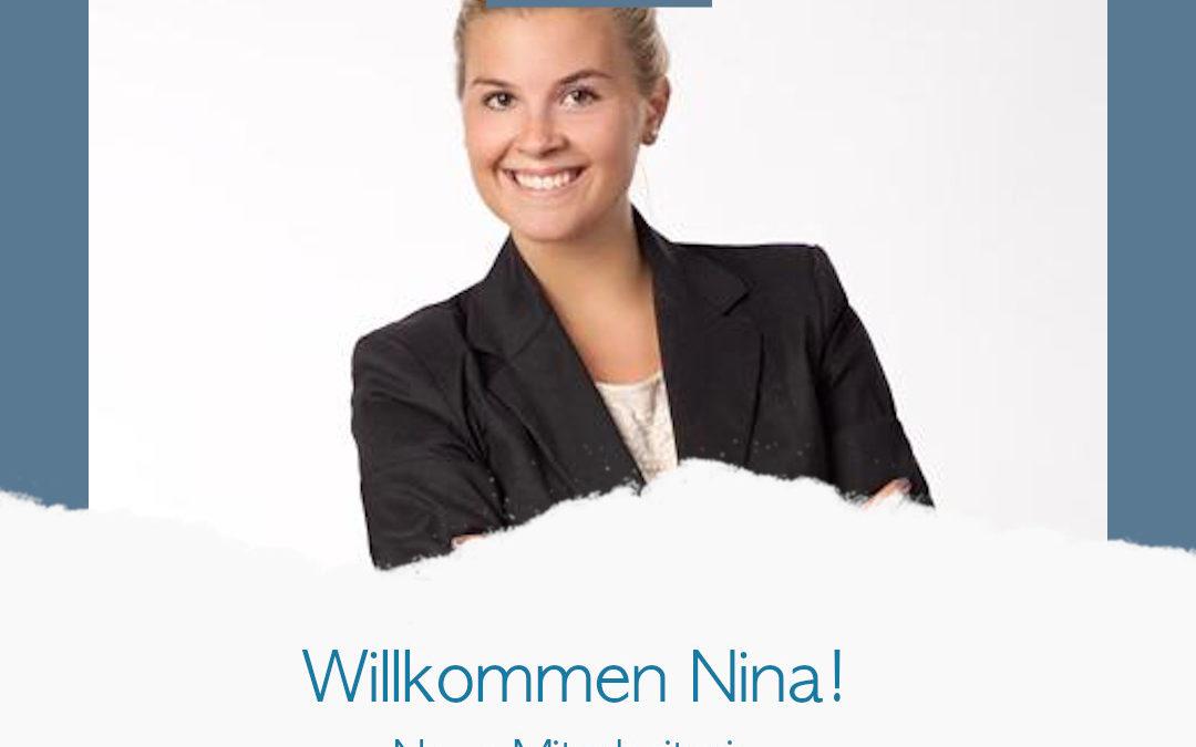 Willkommen Nina Dallinger!